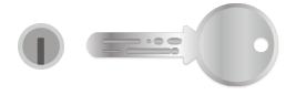 ディンプルキーシリンダー錠の鍵